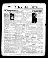 Acton Free Press (Acton, ON), March 30, 1939
