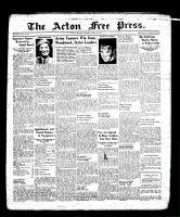 Acton Free Press (Acton, ON), April 6, 1939