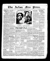 Acton Free Press (Acton, ON), May 11, 1939