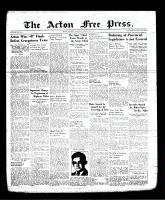 Acton Free Press (Acton, ON), August 24, 1939
