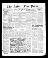 Acton Free Press (Acton, ON), September 7, 1939