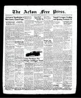 Acton Free Press (Acton, ON), August 29, 1940