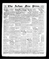 Acton Free Press (Acton, ON), September 5, 1940