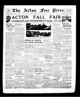 Acton Free Press (Acton, ON), September 12, 1940
