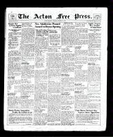 Acton Free Press (Acton, ON), October 3, 1940