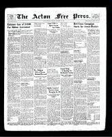 Acton Free Press (Acton, ON), October 10, 1940