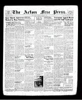 Acton Free Press (Acton, ON), October 31, 1940