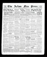 Acton Free Press (Acton, ON), November 7, 1940