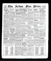 Acton Free Press (Acton, ON), November 14, 1940