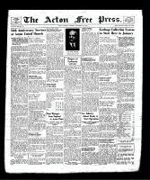 Acton Free Press (Acton, ON), November 21, 1940