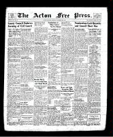 Acton Free Press (Acton, ON), November 28, 1940