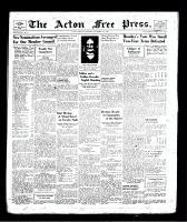 Acton Free Press (Acton, ON), December 5, 1940