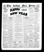 Acton Free Press (Acton, ON), December 31, 1940