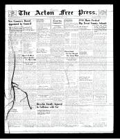 Acton Free Press (Acton, ON), May 1, 1941