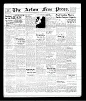 Acton Free Press (Acton, ON), May 29, 1941