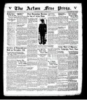 Acton Free Press (Acton, ON), November 13, 1941