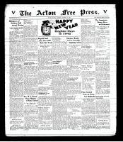 Acton Free Press (Acton, ON), January 1, 1942