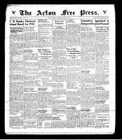 Acton Free Press (Acton, ON), January 8, 1942