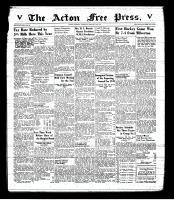 Acton Free Press (Acton, ON), January 15, 1942
