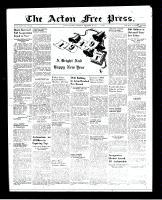 Acton Free Press (Acton, ON), December 30, 1948