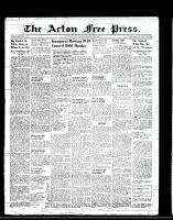 Acton Free Press (Acton, ON), January 6, 1949