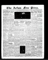 Acton Free Press (Acton, ON), January 20, 1949
