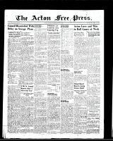 Acton Free Press (Acton, ON), June 9, 1949