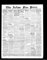 Acton Free Press (Acton, ON)11 Aug 1949