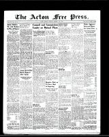 Acton Free Press (Acton, ON), February 16, 1950
