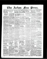 Acton Free Press (Acton, ON), March 9, 1950