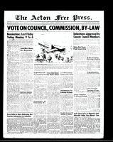 Acton Free Press (Acton, ON)30 Nov 1950
