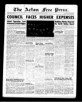 Acton Free Press (Acton, ON), January 25, 1951