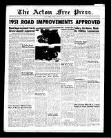 Acton Free Press (Acton, ON), February 1, 1951