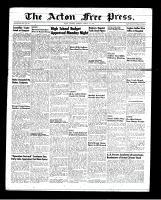 Acton Free Press (Acton, ON), March 1, 1951