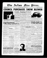 Acton Free Press (Acton, ON), March 22, 1951