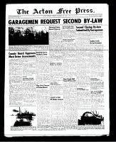 Acton Free Press (Acton, ON), November 8, 1951