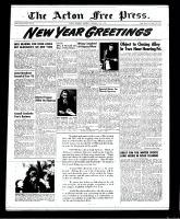 Acton Free Press (Acton, ON), December 27, 1951