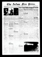 Acton Free Press (Acton, ON), January 7, 1954