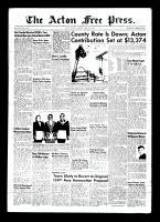 Acton Free Press (Acton, ON)15 Apr 1954