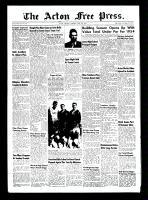 Acton Free Press (Acton, ON)3 Jun 1954
