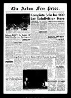 Acton Free Press (Acton, ON), August 12, 1954