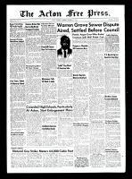 Acton Free Press (Acton, ON)7 Oct 1954