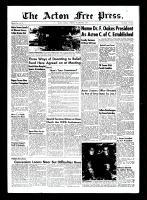 Acton Free Press (Acton, ON), October 28, 1954