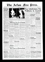 Acton Free Press (Acton, ON), November 4, 1954