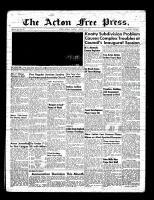 Acton Free Press (Acton, ON)6 Jan 1955