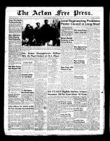Acton Free Press (Acton, ON)19 May 1955