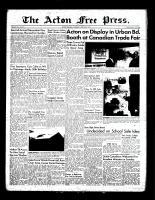 Acton Free Press (Acton, ON), June 2, 1955