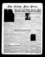 Acton Free Press (Acton, ON), July 7, 1955