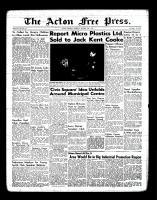 Acton Free Press (Acton, ON)20 Oct 1955