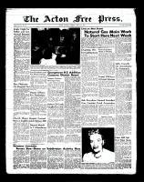 Acton Free Press (Acton, ON)3 May 1956